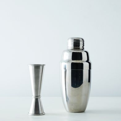 Stainless Steel Cocktail Shaker & Jigger