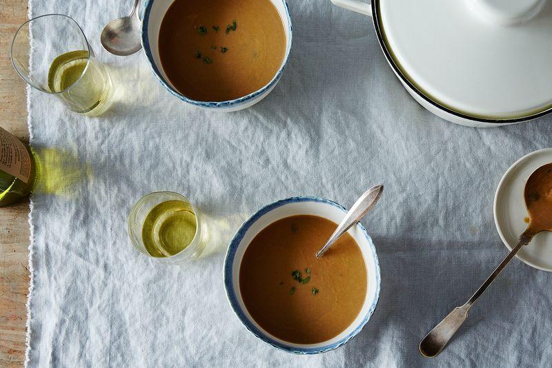 Velvety Mushroom Soup: The Best Use for Mushroom Stems