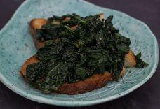 Tuscan Black Cabbage Bruschetta - (Crostoni Di Cavolo Nero)