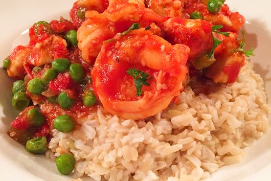Shrimp & Chicken Coconut Stew