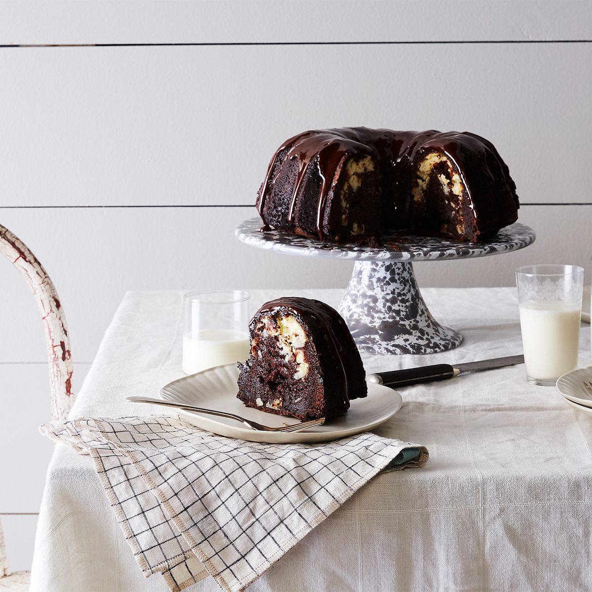 Rich Chocolate Cake with Coconut Filling and Ganache Recipe on Food52