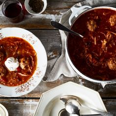 Not Your Grandmother's Cabbage Roll Soup