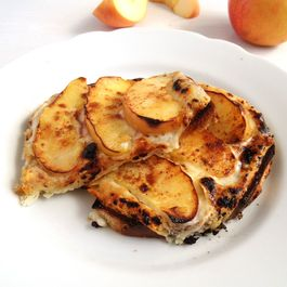Grilled Apple Toast