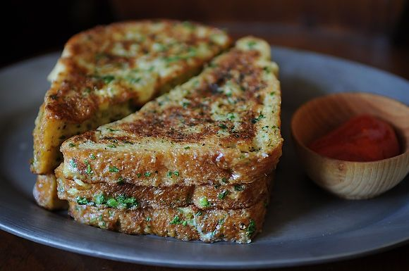 Crispy salt and pepper french toast