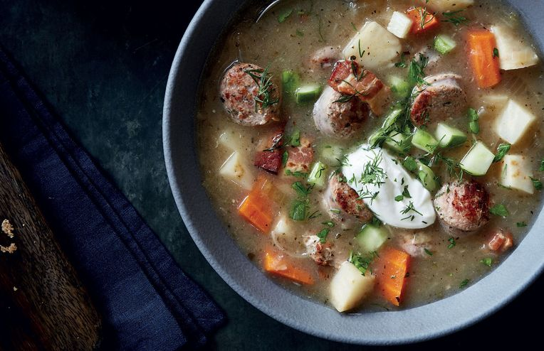 The Healing Powers of Antoni's Hearty Polish Soup