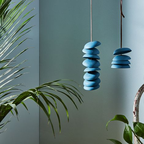 Blue Porcelain Wind Chimes