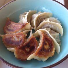 Pork & Celery Dumplings (Gyoza)