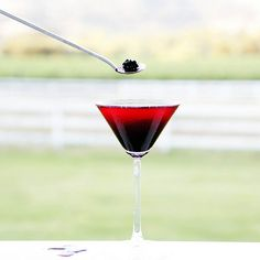 Blackberry Martini
