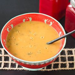 New Zealand Sweet Potato Chowder