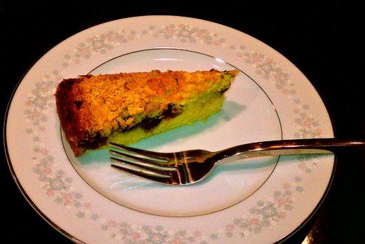 Lemon-Blueberry Corn Cake
