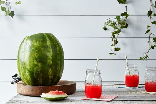 Tap that Watermelon (& 9 Other Fun Ways to Serve Party Drinks)