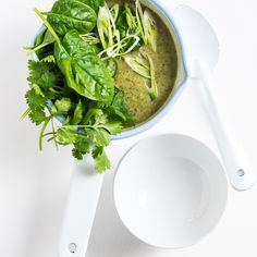 Thai Coconut Broccoli Soup
