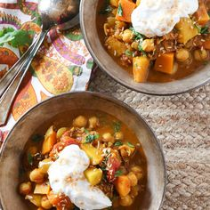 Butternut Squash and Apple Curry