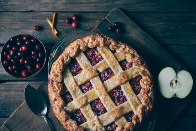 Cranberry Relish Pie