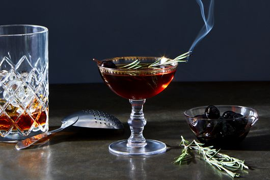 A Wintry Rum Cocktail to Sip Beside the Fire