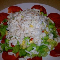 Refreshed Crabmeat Ravigote