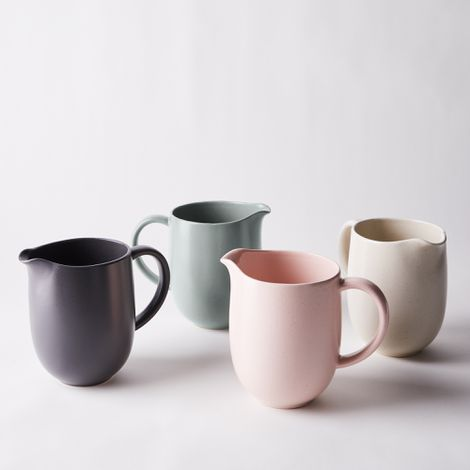 Modern Classic Ceramic Pitcher
