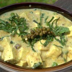 Ramp  Makhani (Paneer & Peas in a creamy Ramp Sauce)