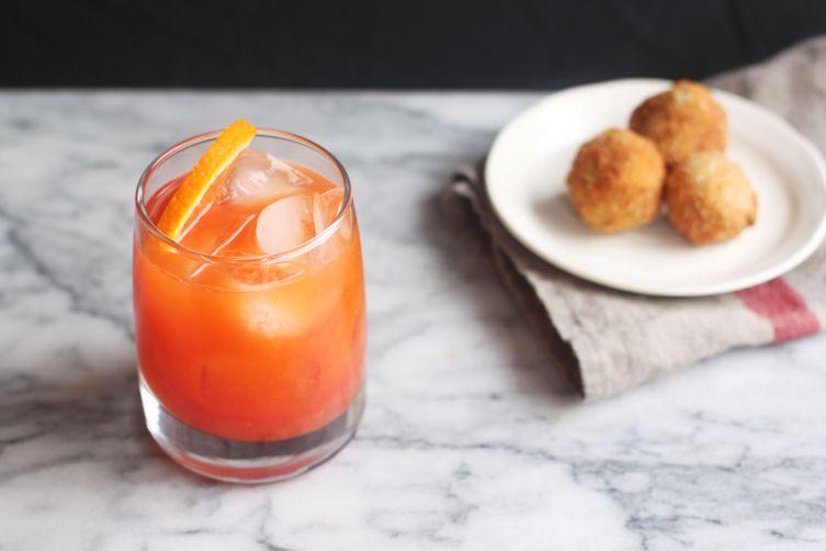 Garibaldi Cocktail (Campari-Orange)