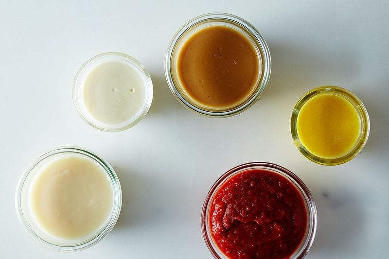 Can you name identify the five French mother sauces?