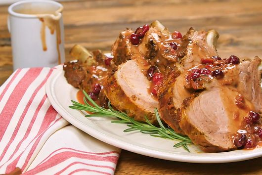 Atkins Low Carb Cranberry-Ginger Pork Roast