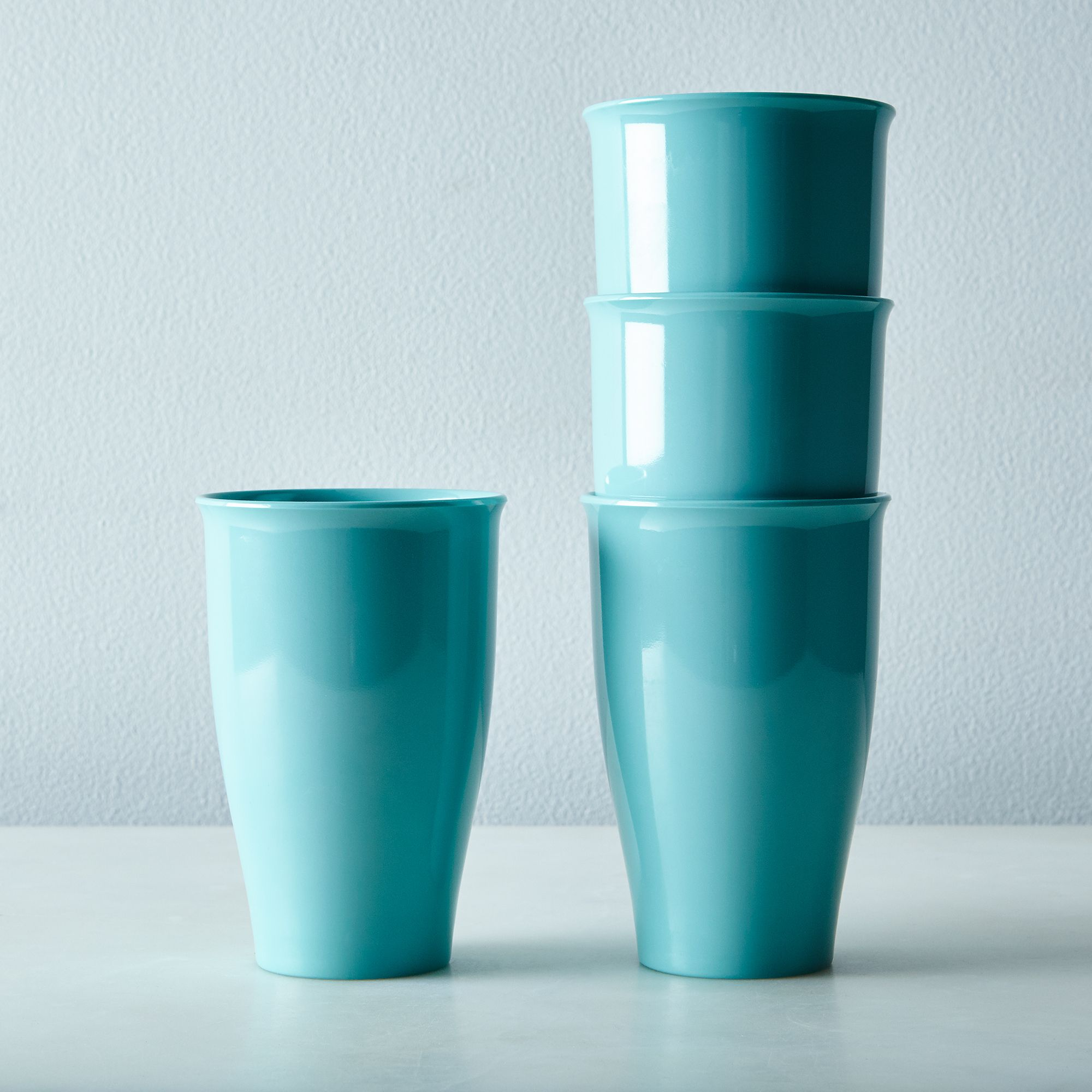 6a9d22b3 397c 4da8 b260 86fe7fc2fc1d  2016 0411 bobs your uncle russel wright melamine dinnerware large tumbler set of 4 aqua silo rocky luten 001