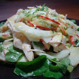 Apple, Fennel, and Chicken Salad with Citrus Vinaigrette