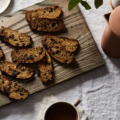 Nutty Cherry Biscotti