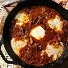 Eggs in Purgatory {Shakshuka}