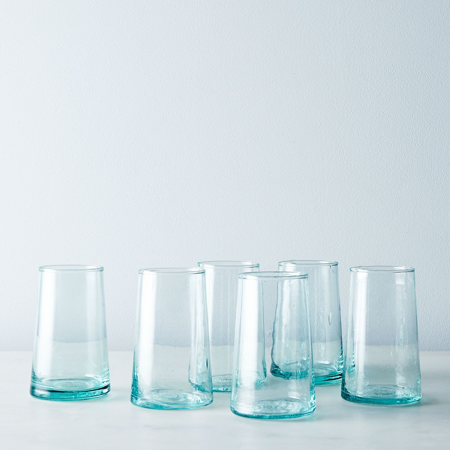 Handblown Moroccan Glasses Set Of 6 On Food52