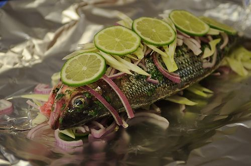 Fish Baked in Foil 1