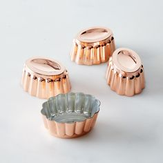 Copper Mini Molds