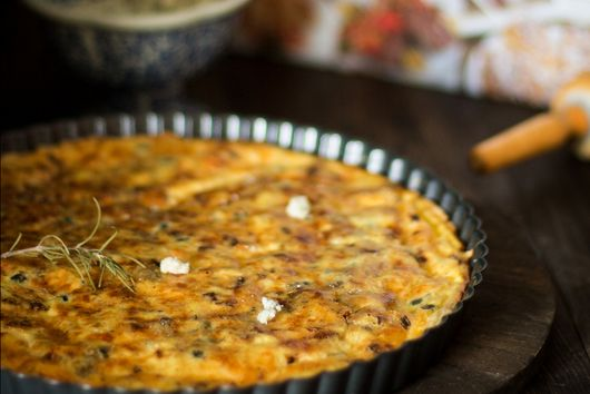 How to make Vatican's cheese quiche
