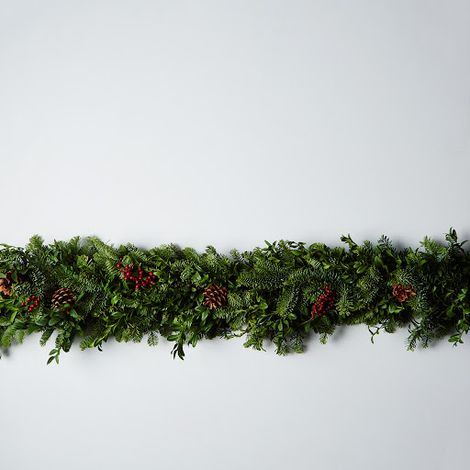 Fir & Canella Berry Garland