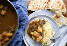 Potato and Beef Curry