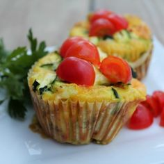Zucchini Quiche Cups