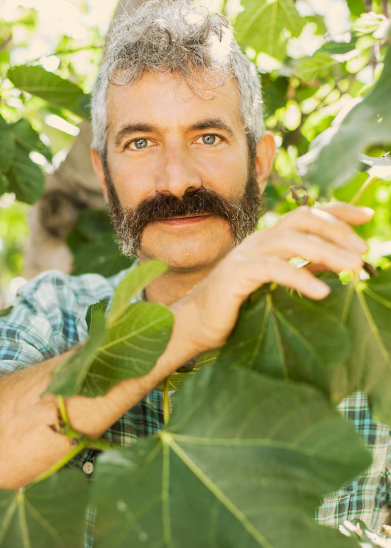 Sandor Katz is a writer, farmer, fermentation revivalist, and wearer of a spectacular mustache. He's also a queer activist.