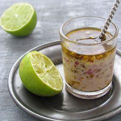 White Lima Bean & Summer Vegetables Salad With Garam Masala Dressing