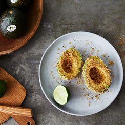 One Chef's Three-Ingredient, Crunchy Avocado Snack