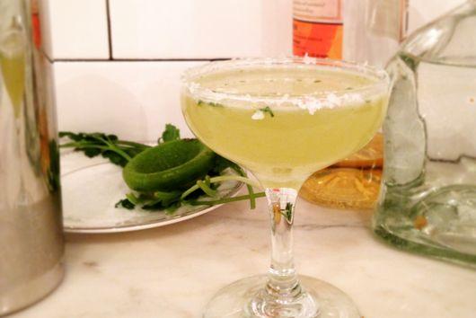 Spicy Cilantro Margarita