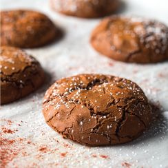 Asha Gomez's Smoky Hazelnut Chocolate Cookies