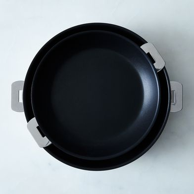 Cristel Space-Saving Nonstick Fry Pan