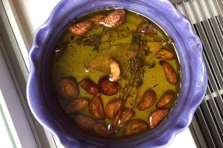 Gjelina's Roasted Cauliflower with Garlic, Parsley & Vinegar