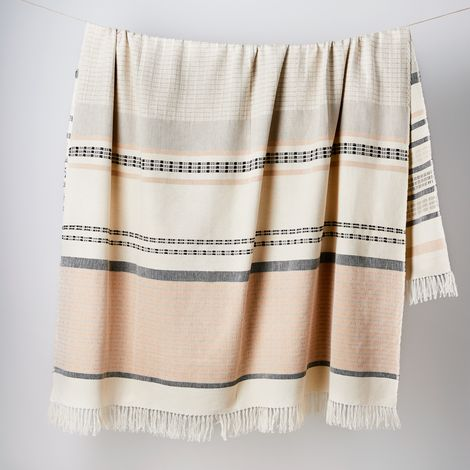Isle Lightweight Cotton Throw