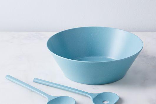 Pebble Melamine Plates & Salad Set