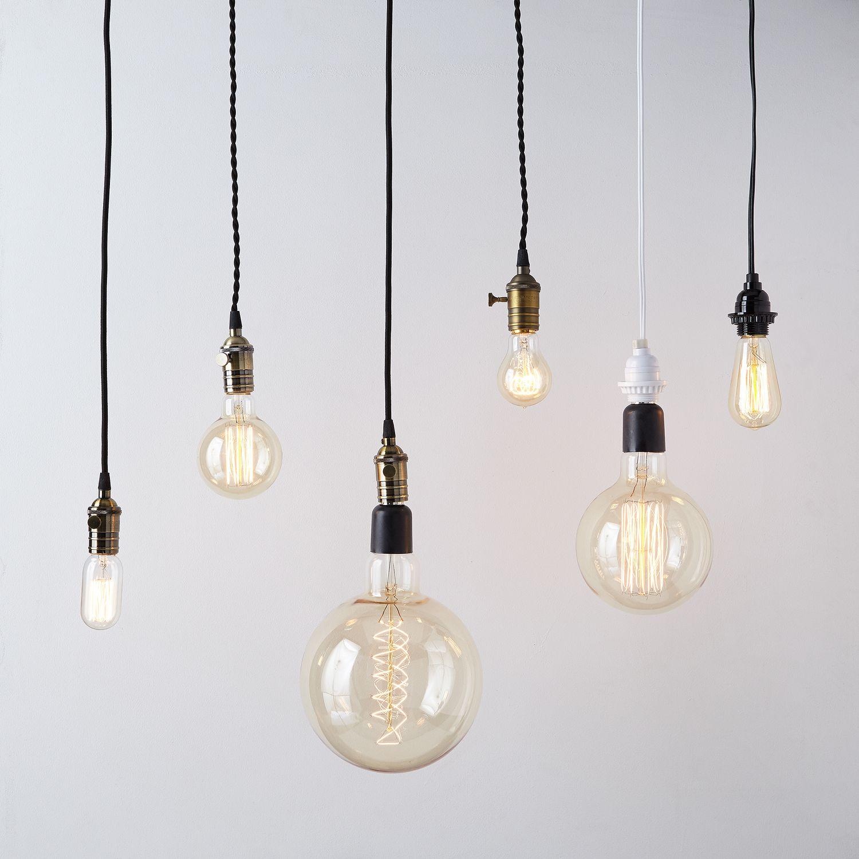 Pendant filament bulbs on food52 arubaitofo Choice Image