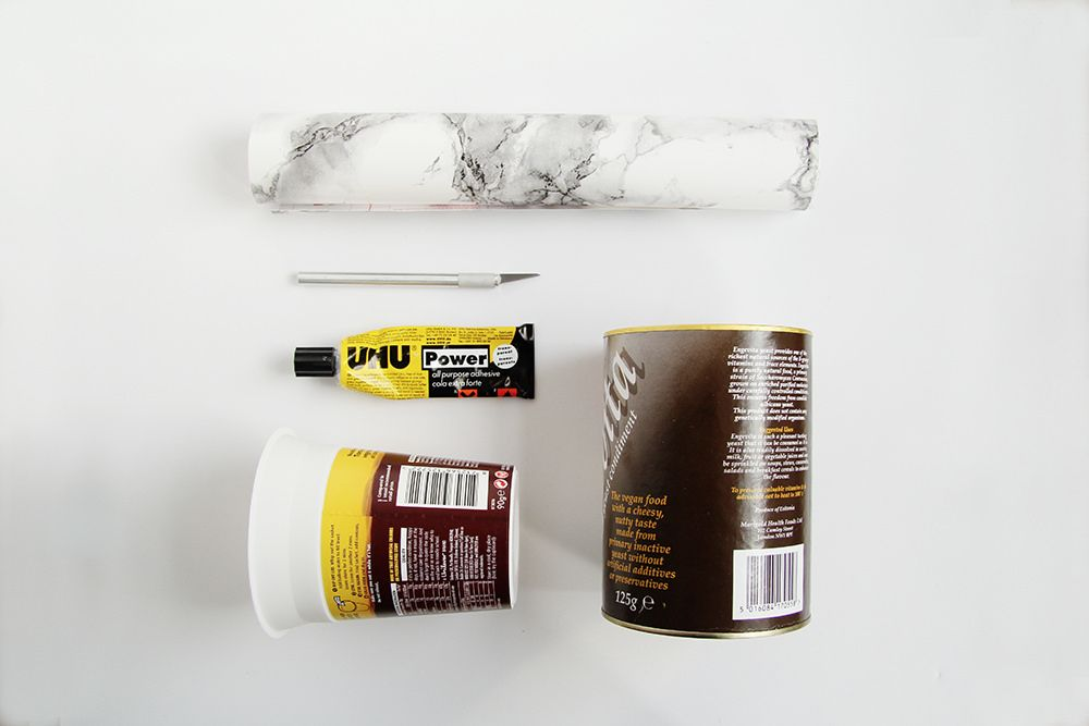 Materials for DIY Marble Planter