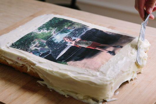 The Nostalgia of Carvel-Style Photo Cakes