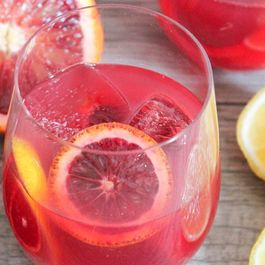 Champagne Punch Drink Recipe