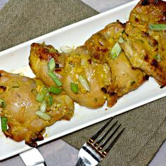 Honey Mustard Chicken Thighs